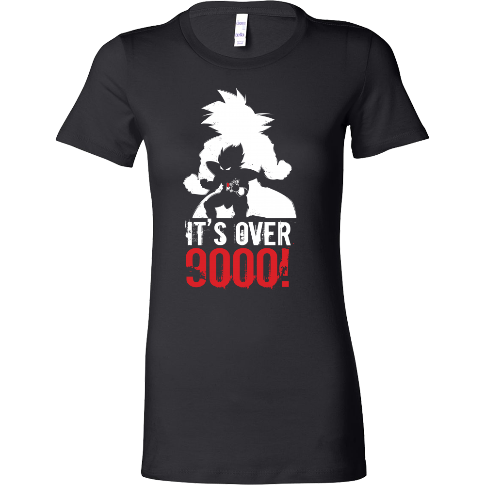 Super Saiyan Over 9000 Woman Short Sleeve T Shirt - TL00532WS