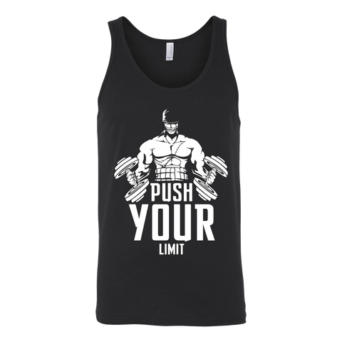One Piece - Push your limit - Unisex Tank Top - TL01368TT