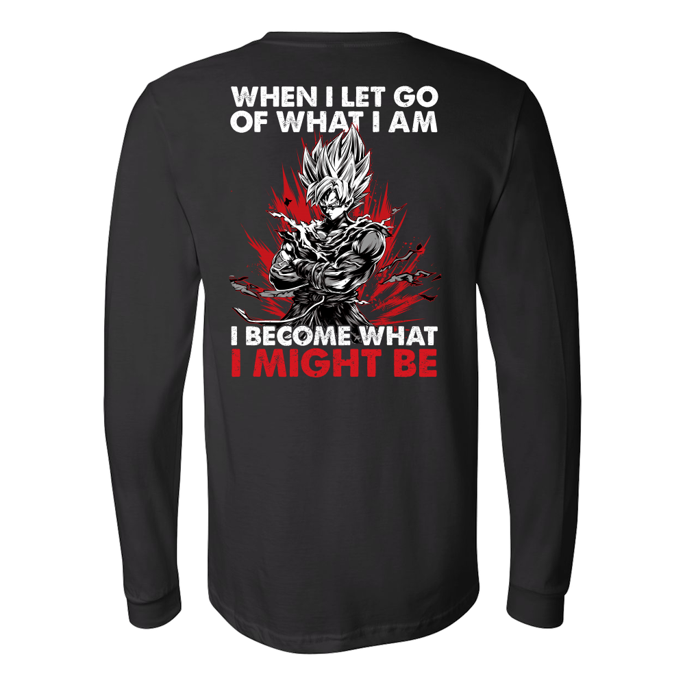 Super Saiyan Goku Instinct Long Sleeve T shirt - TL00039LS