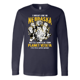 Super Saiyan Nebraska Long Sleeve T shirt - TL00095LS