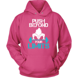 Super Saiyan Goku Push Beyond Your Limits Unisex Hoodie T shirt - TL00527HO