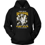 Super Saiyan South Dakota Unisex Hoodie T shirt - TL00107HO