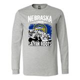Super Saiyan Nebraska Grown Saiyan Roots Long Sleeve T shirt - TL00166LS