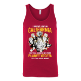 Super Saiyan California Group Unisex Tank Top T Shirt - TL00005TT