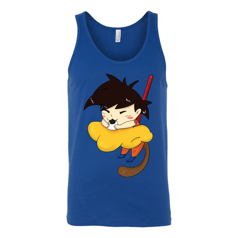 Super Saiyan - Monkey Ball - Unisex Tank Top T Shirt - TL01344TT