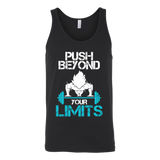 Super Saiyan Goku Push Beyond Your Limits Unisex Tank Top T Shirt - TL00527TT