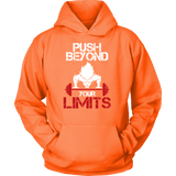 Super Saiyan Goku Push Beyond Your Limits Unisex Hoodie T shirt - TL00526HO
