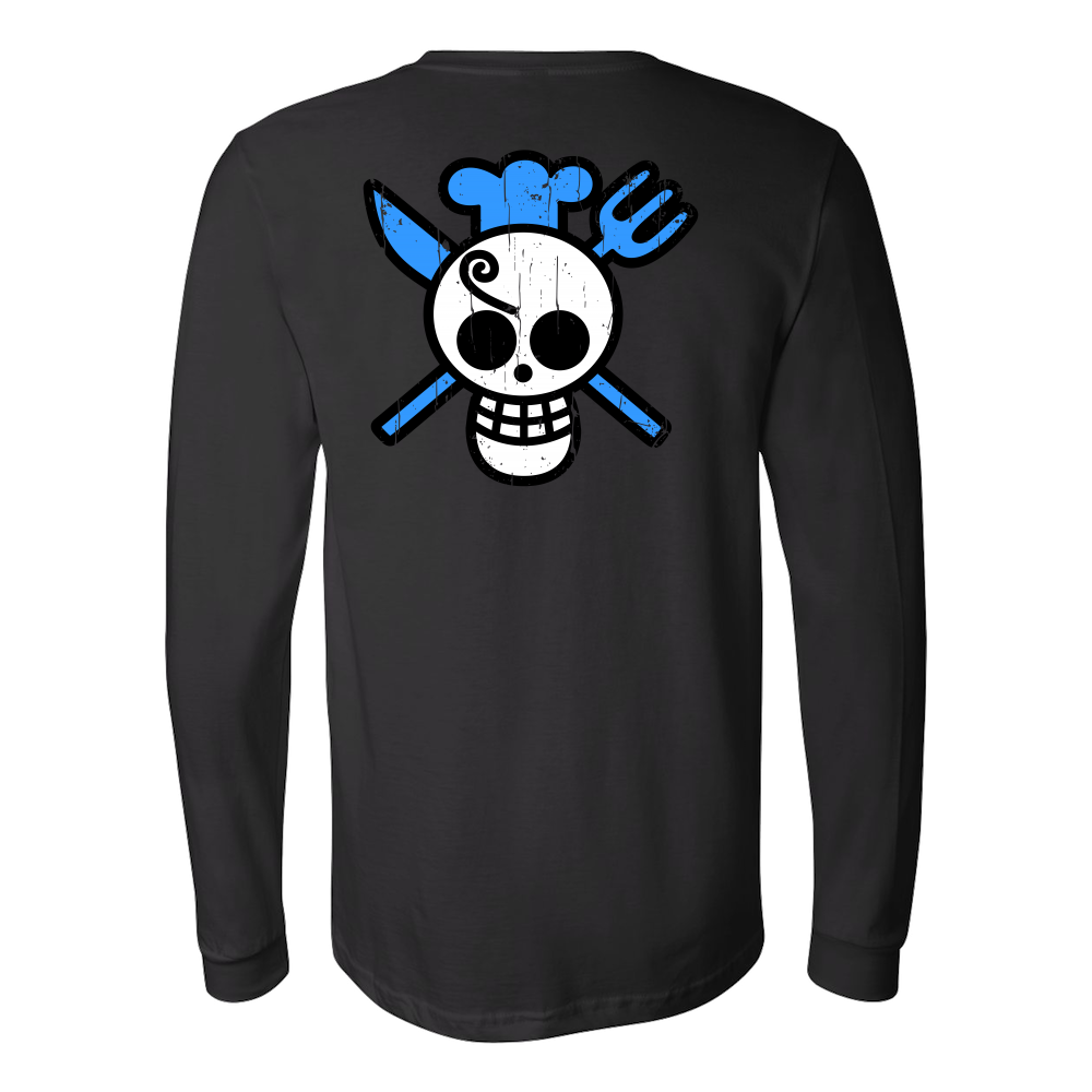 One Piece - Sanji symbol - Long Sleeve T Shirt - TL00900LS