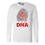 Super Saiyan Vegeta Crest in my DNA Long Sleeve T shirt - TL00529LS