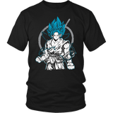 Super Saiyan Goku God Men Short Sleeve T Shirt - TL00528SS