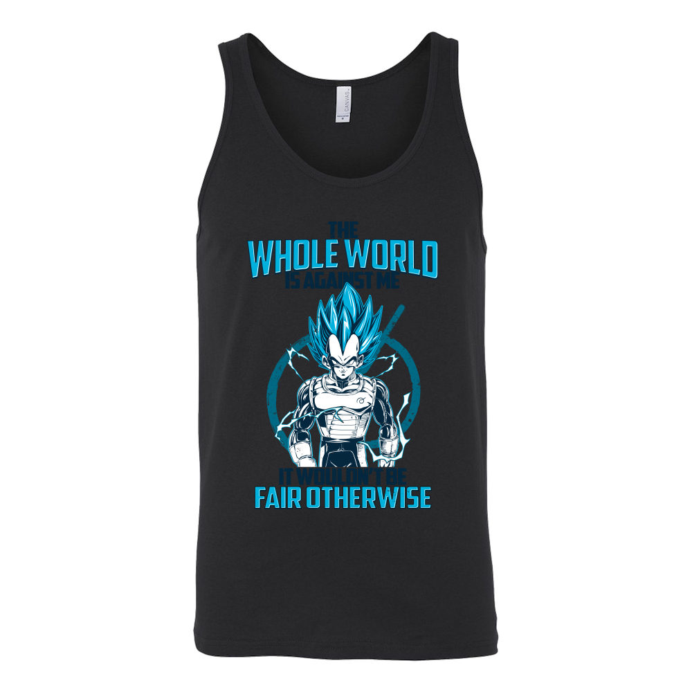 Super Saiyan Vegeta God Fair Otherwise Unisex Tank Top T Shirt - TL00552TT
