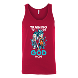 Super Saiyan Training to go God Mode Unisex Tank Top T Shirt - TL00011TT