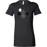 Halloween - Warning I Bite Vampire Cat - Women Short Sleeve T Shirt - TL00802WS