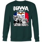 Super Saiyan Sweatshirt T shirt - FOR IOWA FANS - TL00161SW