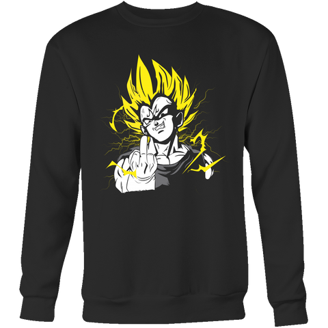 Super Saiyan - They act like they - Unisex Sweatshirt T Shirt - TL01209SW