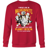 Super Saiyan Massachusetts Sweatshirt T shirt - TL00078SW