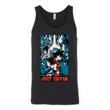 Goku and Vegeta Just Saiyan Unisex Tank Top T Shirt - TL00007TT