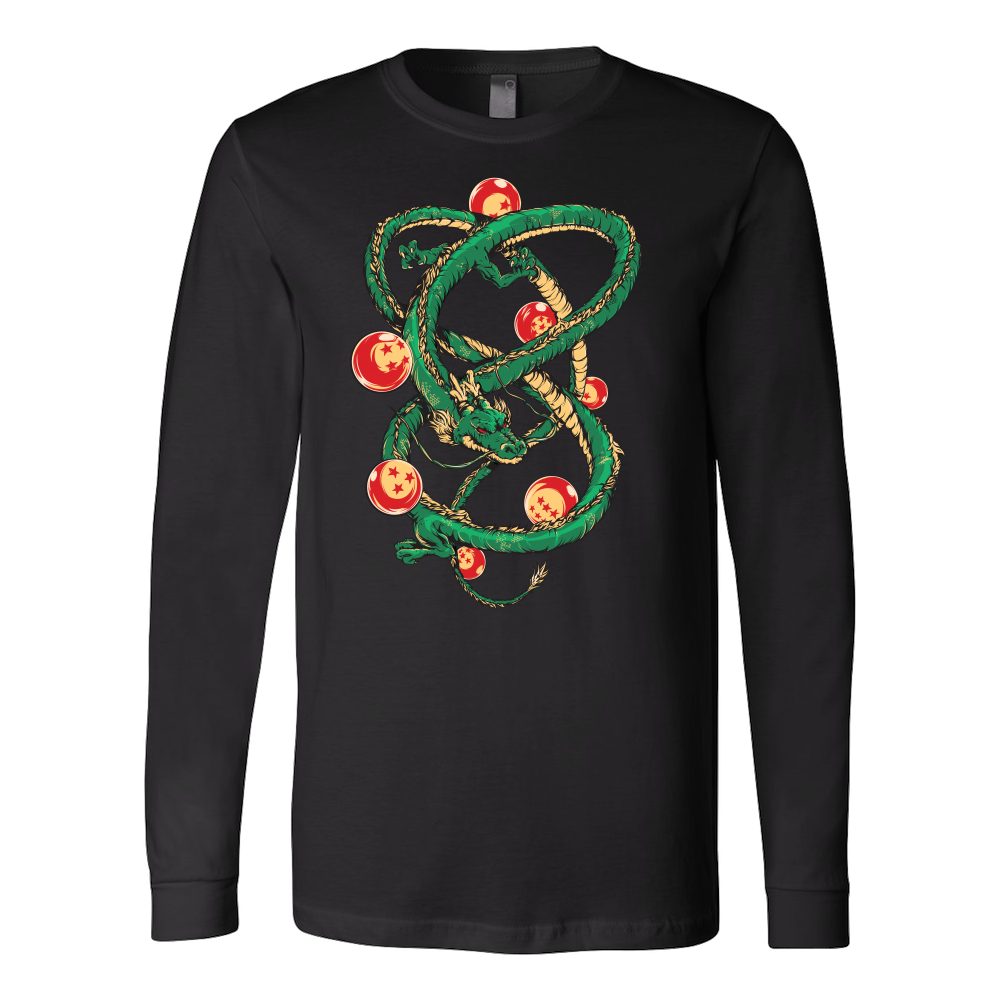 Super Saiyan Shenron with balls Long Sleeve T shirt - TL00119LS