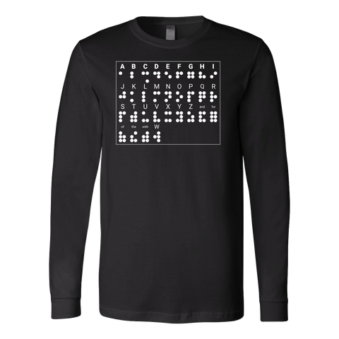 BRAILLE Long Sleeve T Shirt - TL00687LS - The TShirt Collection