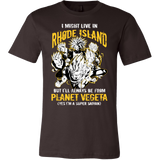 Super Saiyan Rhode Island Men Short Sleeve T Shirt - TL00102SS
