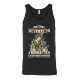 Super Saiyan Vegeta and Trunks Dad Unisex Tank Top T Shirt - TL00460TT