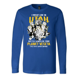 Super Saiyan Utah Long Sleeve T shirt - TL00091LS