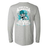 Super Saiyan Goku God Blue Long Sleeve T shirt - TL00204LS