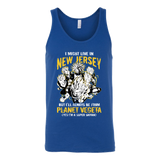 Super Saiyan I May Live in New Jersey Unisex Tank Top T Shirt - TL00072TT