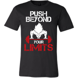 Super Saiyan Goku Push Beyond Your Limits Men Short Sleeve T Shirt - TL00526SS