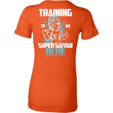 Super Saiyan - Vegeta God Blue Training - Woman Short Sleeve T Shirt - TL00880WS