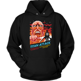 Attack on titans - Titan attack- Unisex Hoodie T Shirt - TL01234HO