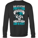 Super Saiyan Blue Goku God No Mercy Sweatshirt T shirt - TL00017SW
