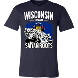 Super Saiyan I May Live in Wisconsin Men Short Sleeve T Shirt - TL00147SS