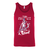 Naruto Sasuke Uchiha Stay on Throne Unisex Tank Top T Shirt - TL00263TT