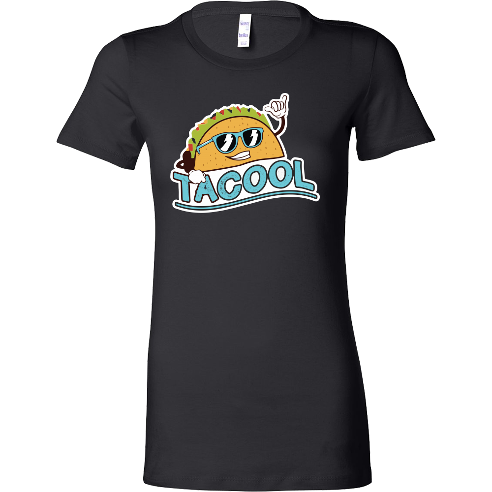 Taco mexican tacool Woman Short Sleeve Funny T Shirt - TL00605WS