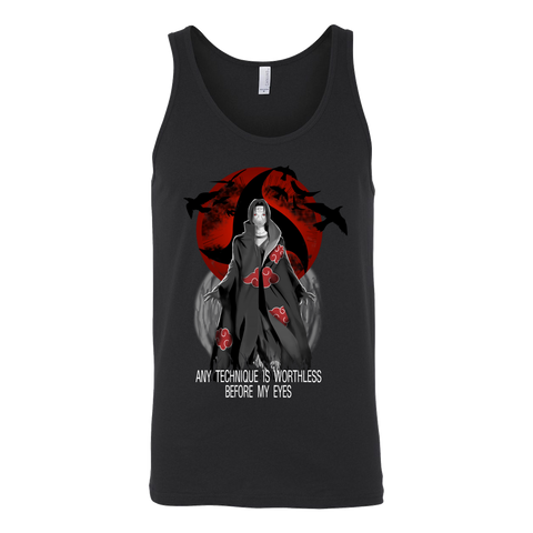 Naruto - Any Technique is worthless before my eyes - Unisex Tank Top -TL01374TT