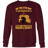 Hobbies - on the 8th day god created the redheads - unisex sweatshirt t shirt - TL00833SW