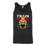Super Saiyan Goku Gym Train Hard Unisex Tank Top T Shirt - TL00441TT