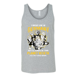Super Saiyan I May Live In Germany Unisex Tank Top T Shirt - TL00113TT
