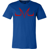 Super Saiyan Red Majin Vegeta Buu Symbol Men Short Sleeve T Shirt - TL00049SS