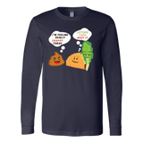 Taco mexican i'm feeling really crappy today Long Sleeve Funny T Shirt - TL00568LS