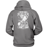Super Saiyan Vegeta Dont Care Unisex Hoodie T shirt- TL00283HO