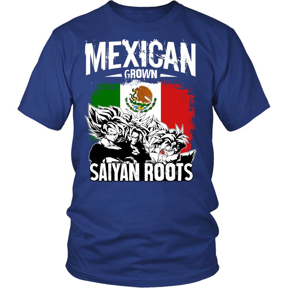 Super Saiyan - Mexican Grown Saiyan Roots - Men Short Sleeve T Shirt - TL00156SS