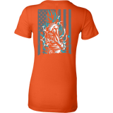 American Super Saiyan God Blue Goku Woman Short Sleeve T shirt - TL00002WS - The TShirt Collection