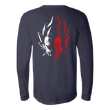 Super Saiyan Vegeta half face long sleeve shirt - TL00232LS