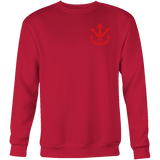 Super Saiyan Sweatshirt T shirt - Red Vegeta Saiyan Crest - TL00013SW