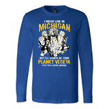 Super Saiyan Michigan Group Long Sleeve T shirt - TL00067LS