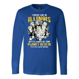 Super Saiyan ILLINOIS Group Long Sleeve T shirt - TL00064LS