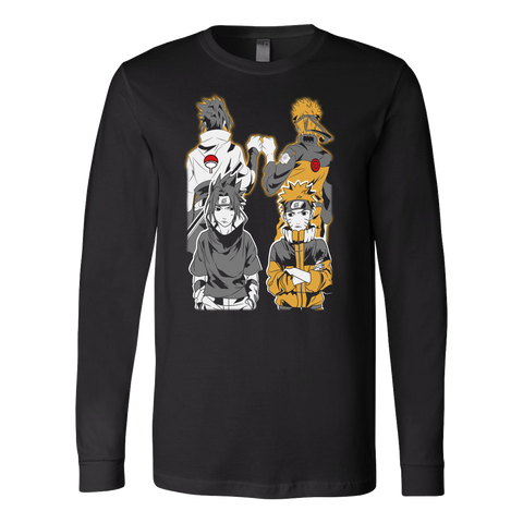 Naruto - Naruto and Sasuke Best Friend - Unisex Long Sleeve T Shirt - TL01141LS