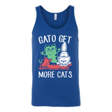 Gato get more cats Unisex Tank Top T Shirt - TL00658TT